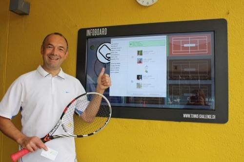 Tennis Infoboard